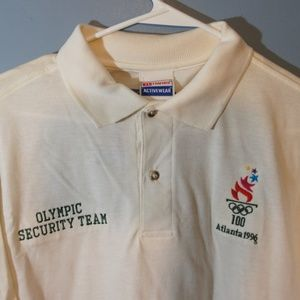 VTG 1996 Atlanta Olympics Security Polo NWT